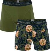 Muchachomalo Virtual reality Heren boxershort - 2 pack - Print/Legergroen