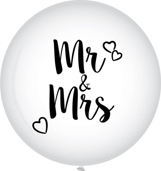 XL Ballon mr en mrs