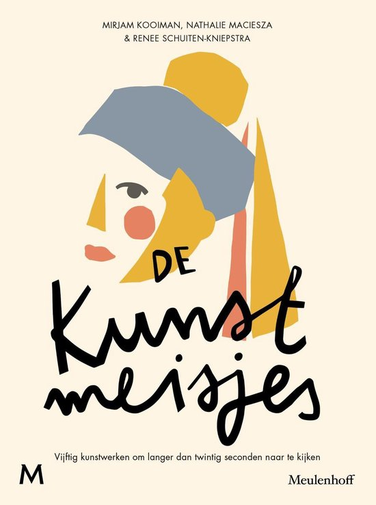 Boek cover De kunstmeisjes van Mirjam Kooiman (Onbekend)
