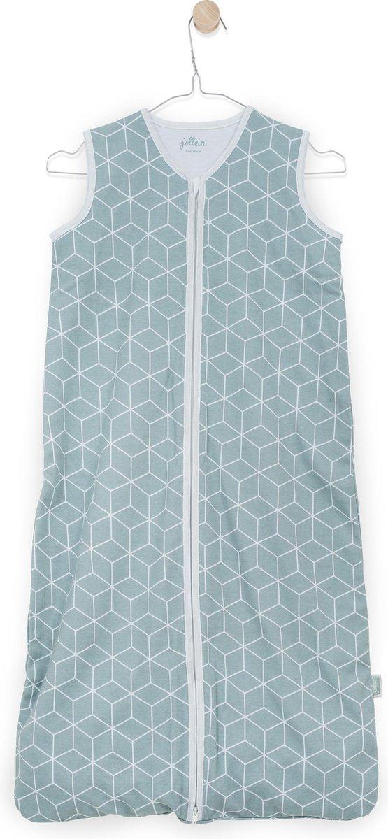 Slaapzak zomer 90cm jersey Graphic stone green - Jollein