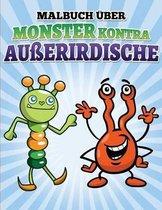 Libro de Colorear de Robots Contra Alien genas