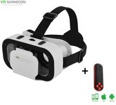 Shinecon® 5.0 Pro For Kids - 3D Virtual Reality Bril IMAX 3D -  IOS/Android + Premium VR Controller (Voor Kinderen)
