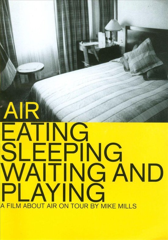 Cover van de film 'Air - Eating, Sleeping , Waiting'
