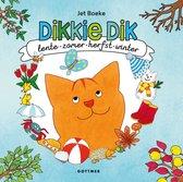 Boek cover Dikkie Dik  -   Lente, zomer, herfst en winter van Jet Boeke (Hardcover)