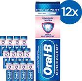 Oral-B Pro-Expert Gevoelige Tanden - Voordeelverpakking 12 x 75 ml - Tandpasta