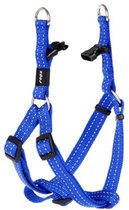 Rogz For Dogs Snake Step-In Tuig Blauw - 16 MMX42-61 CM