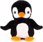 Magnetron warmte knuffel pinguin 13 cm - Warmte/koelte knuffelpinguin - Kruik knuffels voor kinderen/jongens/meisjes