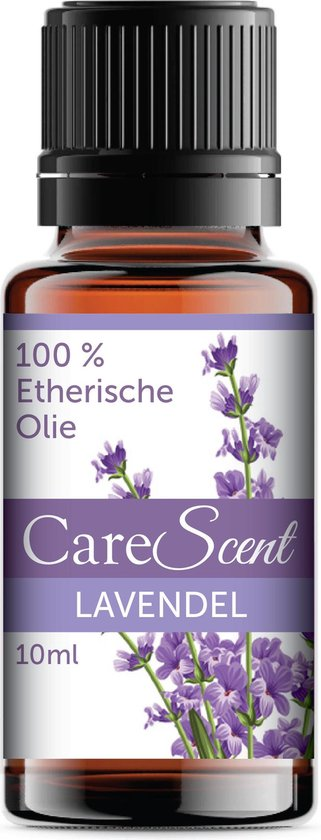 CareScent Etherische Olie Lavendel | Essentiële Olie voor Aromatherapie | Aroma Olie | Essential Oil | Aroma Diffuser Olie | Lavendelolie - 10ml