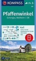 Kompass WK179 Pfaffenwinkel, Schongau, Weilheim