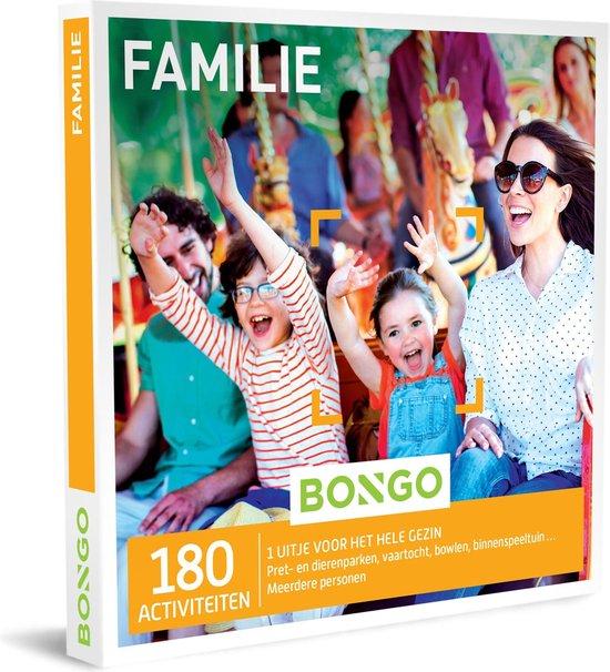 Bongo Bon Nederland - Familie Cadeaubon - Cadeaukaart cadeau voor man of vrouw | 180 familie-activiteiten: avontuur, leerrijk, plezier, sportief en meer