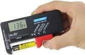 Digitale Batterijtester - Batterij Tester -  Met Accu-indicator & LCD Display - Batterijmeter Accutester - Batterijen Tester