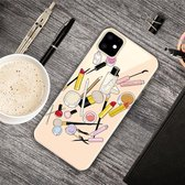 iPhone 11 (6,1 inch) - hoes, cover, case - TPU - Make up