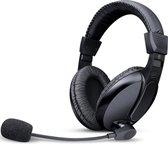 QY Stereo headset Koptelefoon met microfoon voor PC, Laptop, Gaming, Skype, PS4