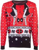 Marvel Deadpool Kersttrui -L- Christmas Multicolours