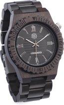 Greenwatch Nightfall Houten Horloge