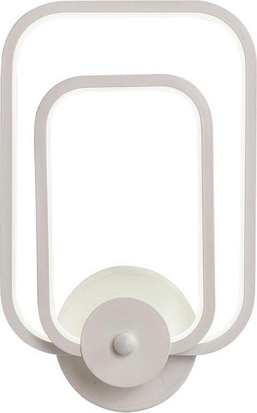 Wandlamp LED Design Wit Rechthoek Scaldare Gaeta