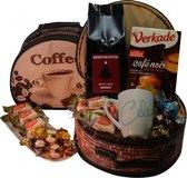 Koffiezz kerstgeschenk koffer gemalen koffie