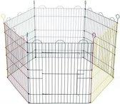 Beeztees Konijnenren - 6 Panelen van 66,5 x 58 cm