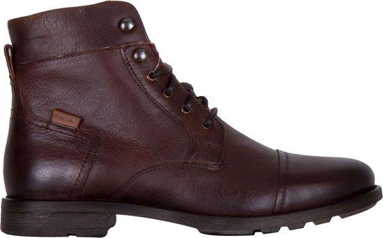 Levi Sneakers - Maat 44 - Mannen - donker bruin