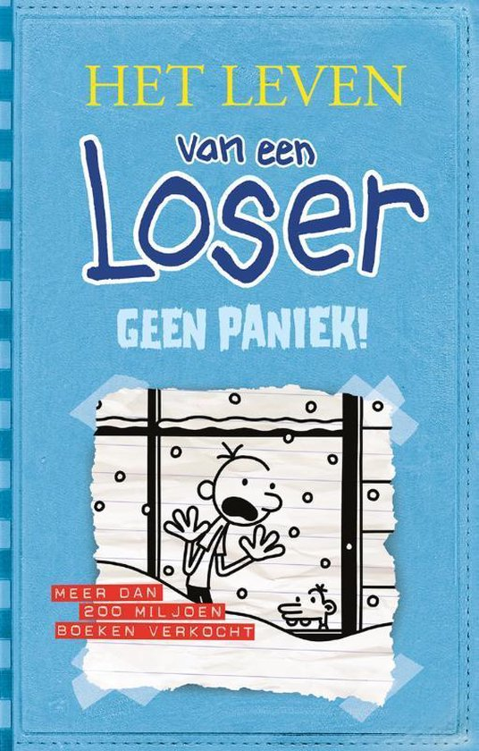 Boek cover Het leven van een Loser 6 - Geen paniek! van Jeff Kinney (Paperback)