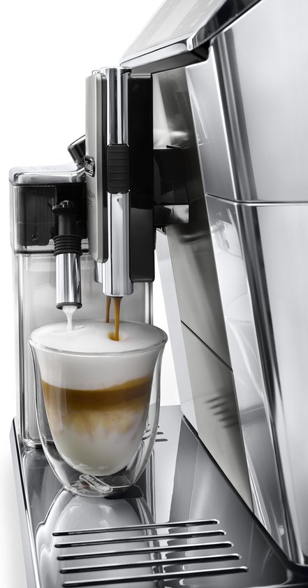 De'Longhi PrimaDonna Elite ECAM650.55.MS - Espressomachine - ZIlver/Zwart