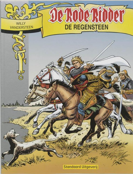 Rode Ridder 214 De Regensteen - Willy Vandersteen pdf epub