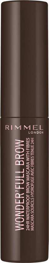 Rimmel London Wonder'full 24 Hour Brow Mascara - 003 Dark brown