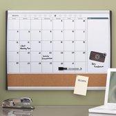 Rexel Combibord Planning - Maandplanner - 58,5 x 43,0 cm - incl. magneet