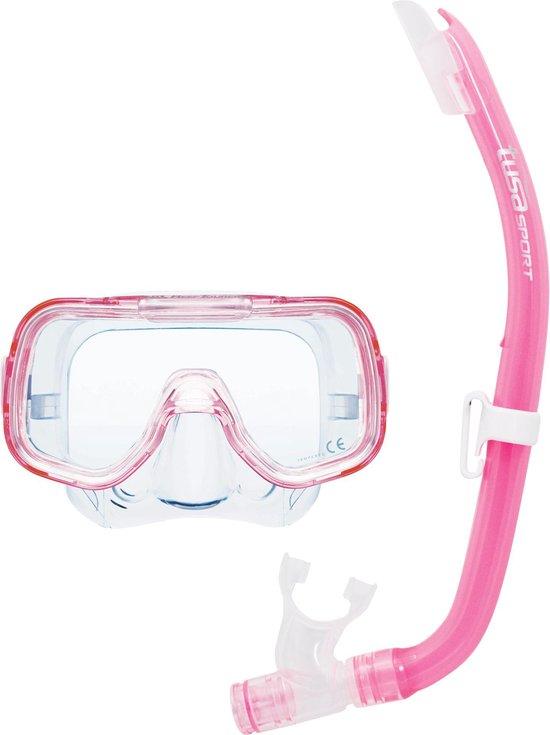 Tusa snorkelset Elite junior roze
