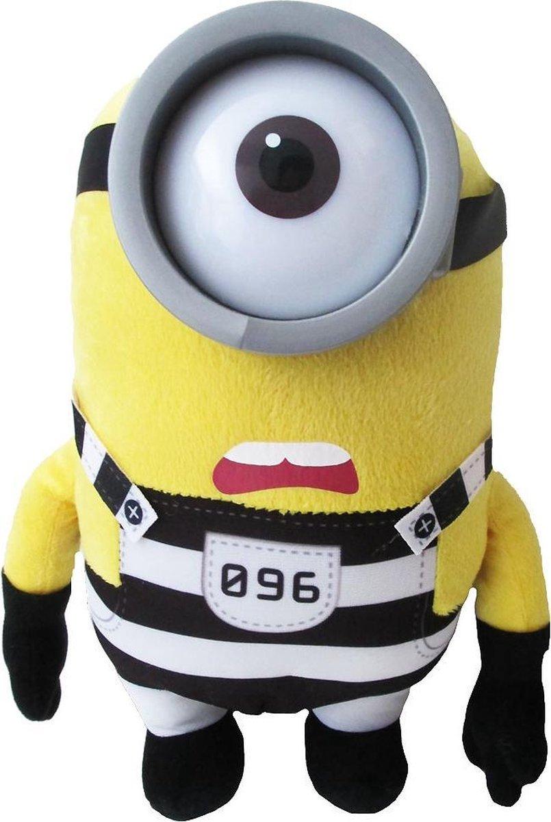 Pluche Minion knuffel Jailbreak Stuart nr.096