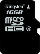 Kingston MicroSDHC 16GB - Class 4