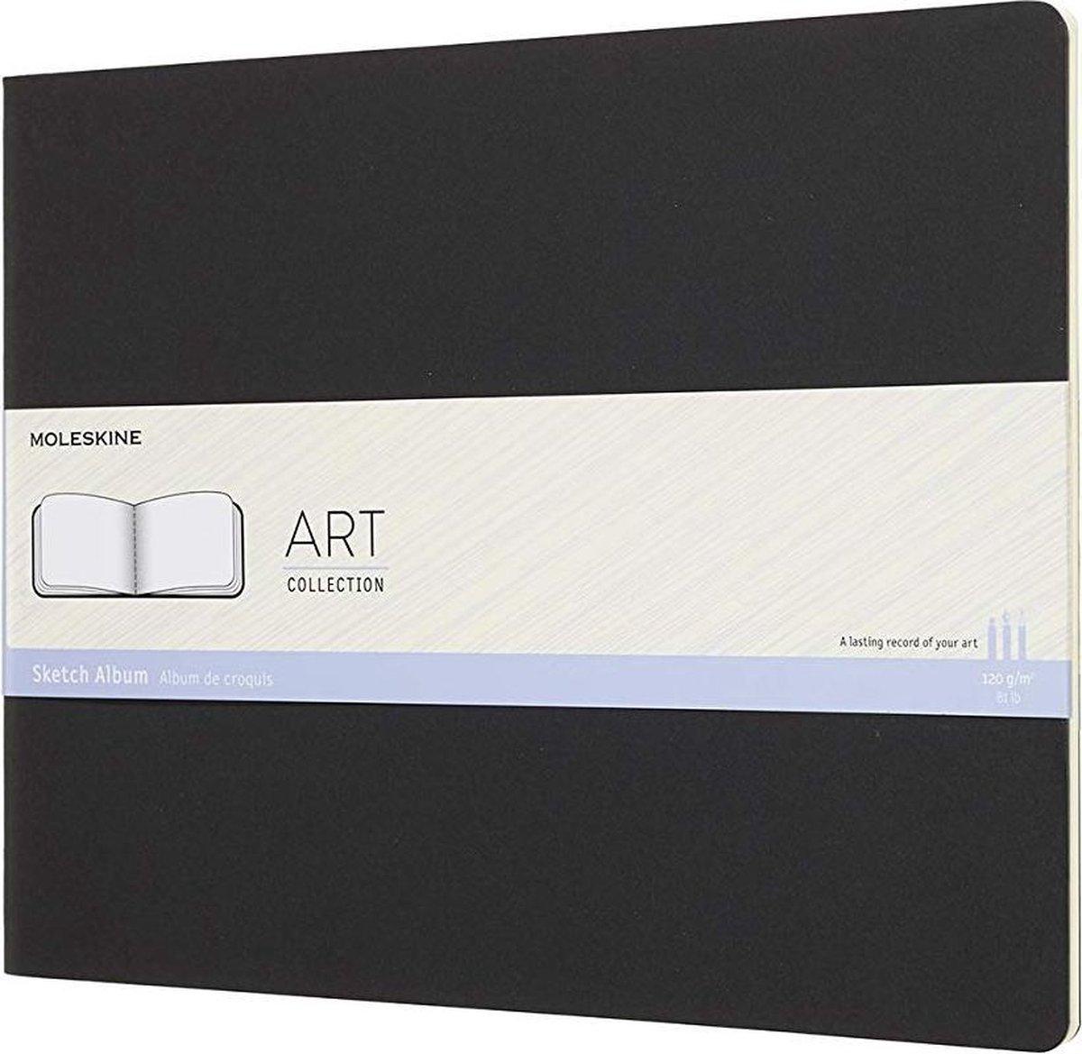 Moleskine Art Schetsboek XXL - Soft cover - Blanco - Zwart
