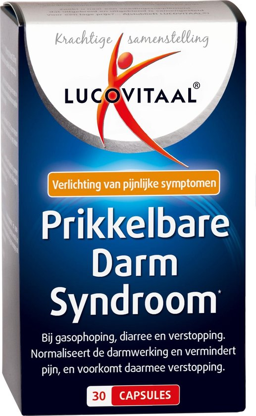 Lucovitaal Prikkelbare Darm Syndroom Darmflora - 30 Capsules