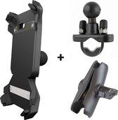 Getnord Lynx houder - draadloze oplader - RAM mount - robuuste smartphone - kit voor fiets - mountainbike