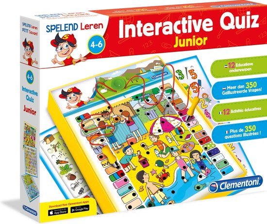 Clementoni Electro Interactieve Quiz Junior