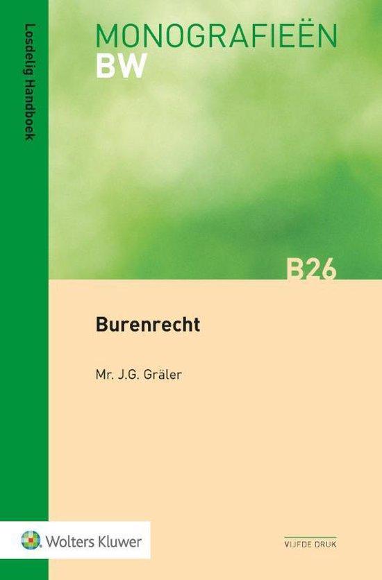 Burenrecht - J.G. Graler  