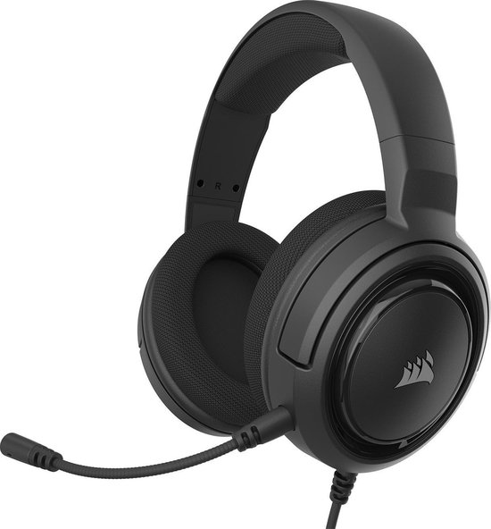 Corsair HS35 Gaming Headset - Carbon Zwart - PC+PS4+Xbox One+Nintendo Switch