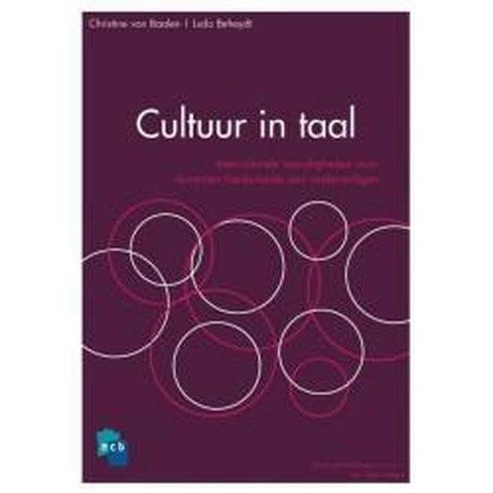 Cultuur en taal - C. van Baalen |