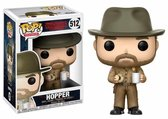Pop Stranger Things Hopper with Donut Vinyl Figure