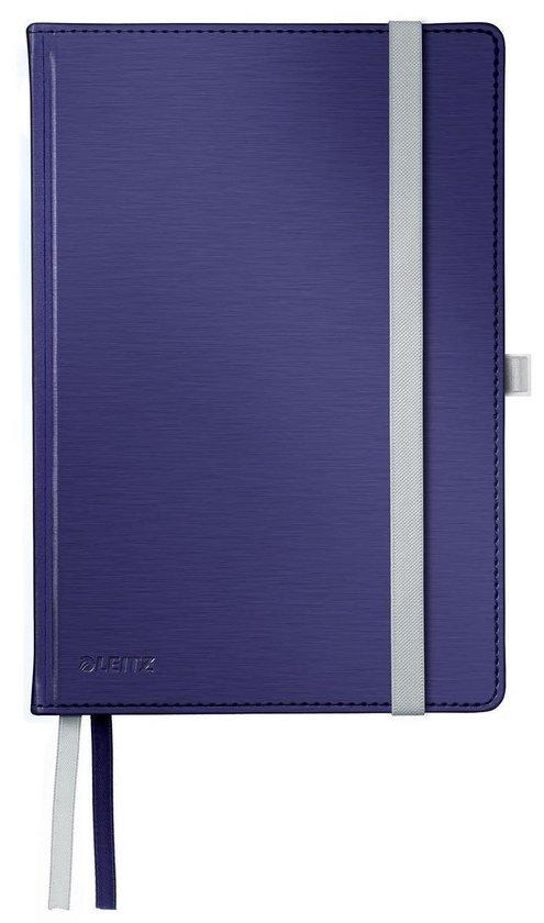 Leitz Notitieboek Style - A5 formaat - Harde gebonden kaft - gelijnd - titanium blauw