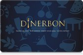 Dinerbon - Restaurant giftcard - 75,-
