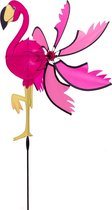 Windspitration Spinning Flamingo - Windspelen - Roze