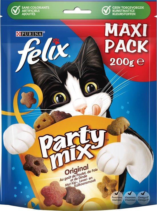 Felix Party Mix - Kattensnacks Original Mix - 5 x 200 g