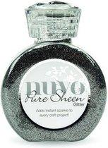 Nuvo Pure sheen glitter - steel grey