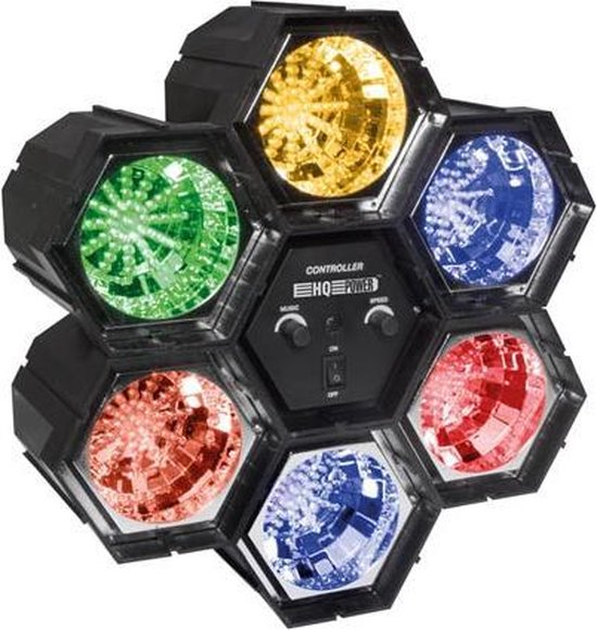 Modulair Lichtorgel - 6 X 47 Leds