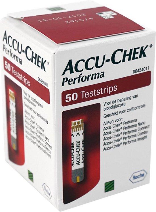 Accu-Chek Performa Teststrips 50 stuks
