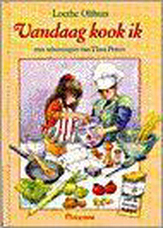 Boek cover Vandaag kook ik van Loethe Olthuis (Hardcover)