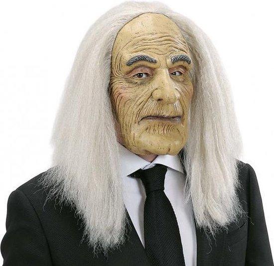 Halloween - Butler masker met pruik