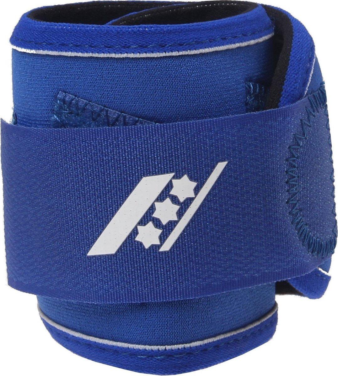 Rucanor Carpo Polsbandage - Sportbandages - blauw kobalt - ONE