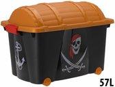 Verkleedkist Piraat 60x40x42cm (leeg)